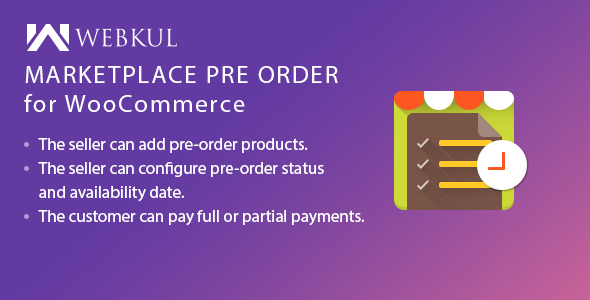 Marketplace Pre Order Plugin for WooCommerce Free Download | Nulled