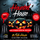 Haunted House Flyer Template - GraphicRiver Item for Sale