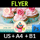 Cake Flyer Template Vol.6 - GraphicRiver Item for Sale