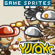 "Game Character Sprites ""Sheriffs"" - GraphicRiver Item for Sale"