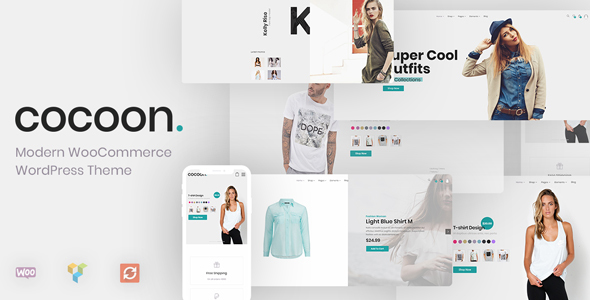 Cocoon - Modern WooCommerce WordPress Theme - WooCommerce eCommerce