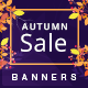 Autumn HTML5 Banners - 7 Sizes - CodeCanyon Item for Sale