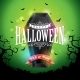 Happy Halloween Banner Illustration with Flying - GraphicRiver Item for Sale