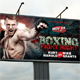 Boxing Outdoor Banner V2 - GraphicRiver Item for Sale