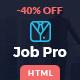 Job Pro - Job Board HTML Template - ThemeForest Item for Sale