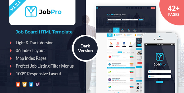 Job Pro - Job Board HTML Template
