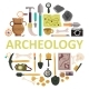 Archaeology Icon Set Vector Isolated Illustration - GraphicRiver Item for Sale