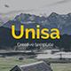 Unisa Creative Google Slide Template - GraphicRiver Item for Sale