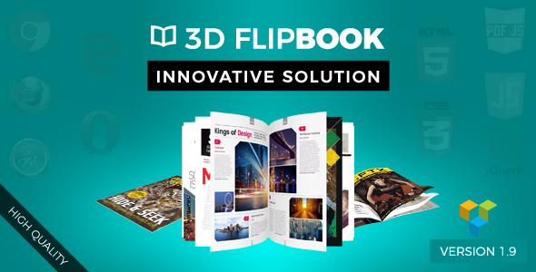 Visual Composer FlipBook - CodeCanyon Item for Sale