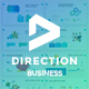 Business Direction Pitch Deck Powerpoint Template - GraphicRiver Item for Sale