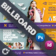 Kids School Billboard Templates - GraphicRiver Item for Sale
