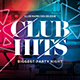Club Hits Party Flyer - GraphicRiver Item for Sale