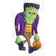 Frankenstein Monster Carrying Pumpkin Pail - GraphicRiver Item for Sale