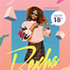 90's Music Dj Party Flyer - GraphicRiver Item for Sale