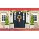 Christmas Decoration of Entrance Doors - GraphicRiver Item for Sale