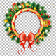 Christmas and New Year Wreath - GraphicRiver Item for Sale
