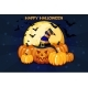Cartoon Halloween Pumpkins and Moon - GraphicRiver Item for Sale