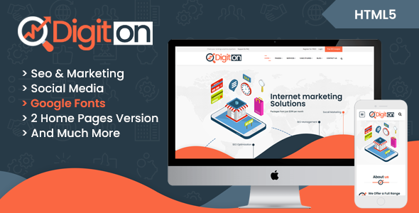 Digiton – SEO and Digital Agency HTML Template