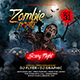 Zombie Party Flyer Template - GraphicRiver Item for Sale