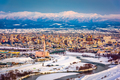 Asahikawa, Japan winter cityscape in Hokkaido. - PhotoDune Item for Sale