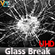 VDE Glass Break Texture 2K - 3DOcean Item for Sale