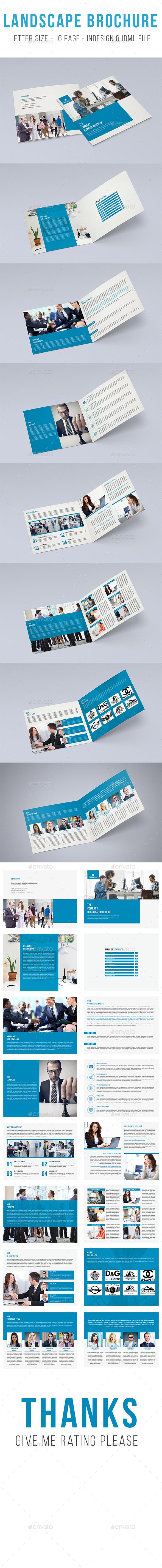 Brochure Indesign Tamplate - Brochures Print Templates