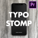 Instagram Typography Stomp 2-in-1 | Mogrt - VideoHive Item for Sale