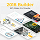 2018 Builder Bundle 3 in 1 Powerpoint Template - GraphicRiver Item for Sale
