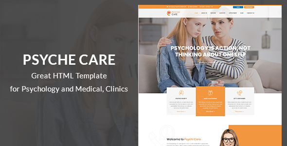 Psyche - Psychology & Counseling HTML Template