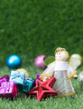 Close up Christmas decoration on grass_-10 - PhotoDune Item for Sale