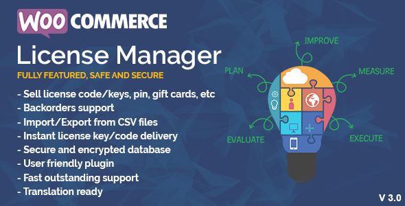 WooCommerce License Manager - CodeCanyon Item for Sale