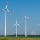 Wind power plants in the fields - PhotoDune Item for Sale