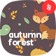 Vector Autumn Forest Seamless Patterns - GraphicRiver Item for Sale