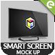 Smart Screen Mockup - UHD TV - GraphicRiver Item for Sale