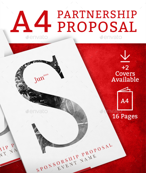 Partnership Proposal A4 - Brochures Print Templates