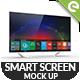 4k Smart Screen Mockup - 4k TV - GraphicRiver Item for Sale