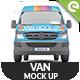 Van Mock Up - Set 01 - GraphicRiver Item for Sale