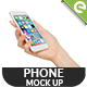 Mobile Phone Realistic Mock Up - Product Mock Up - GraphicRiver Item for Sale