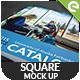 Square Mockup Template - GraphicRiver Item for Sale