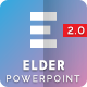 Elder 2.0 – A Project Status Report PowerPoint Template - GraphicRiver Item for Sale