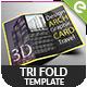 Tri Fold Brochure MockUps - Brochure MockUps - GraphicRiver Item for Sale