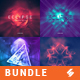 Electronic Music Album Cover Artwork Templates Bundle 4 - GraphicRiver Item for Sale