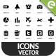 270 Vector Icons - GraphicRiver Item for Sale