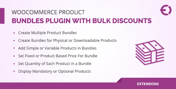 WooCommerce Product Bundles Plugin with Bulk Discounts - CodeCanyon Item for Sale