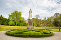 Rosalind Gardens and Queen Victoria monument on a warm spring morning in Bendigo, Victoria, Austral - PhotoDune Item for Sale