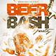 Beer Bash Flyer Template-Graphicriver中文最全的素材分享平台