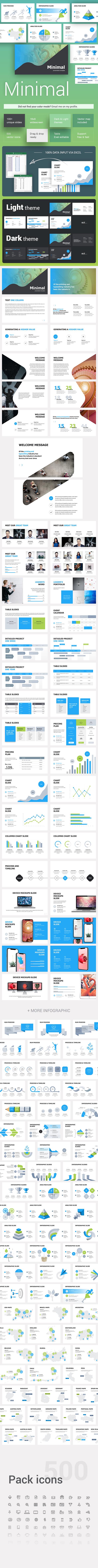 Minimal Corporate Powerpoint Template - Creative PowerPoint Templates