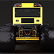 Monster Truck School Bus - 3DOcean Item for Sale