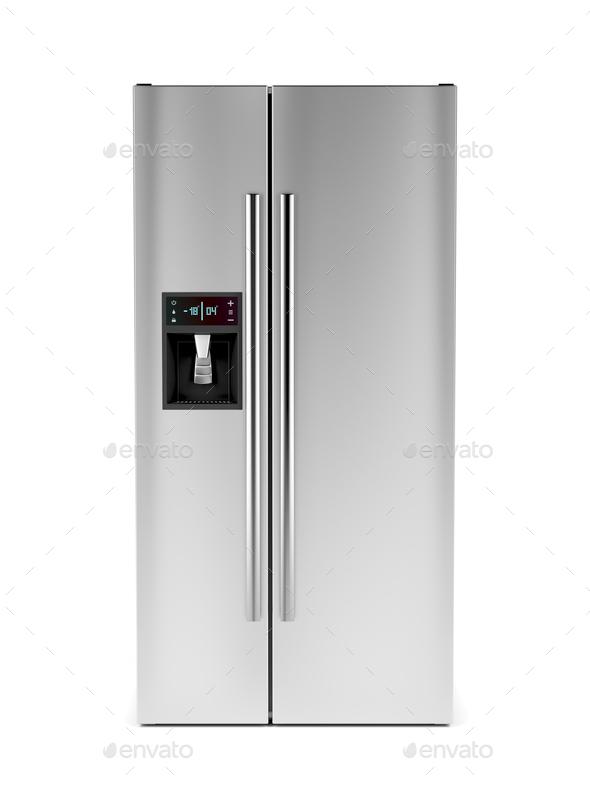 Big fridge - Stock Photo - Images