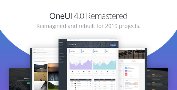 OneUI - Bootstrap 4 Admin Dashboard Template & Laravel Starter Kit - Admin Templates Site Templates
